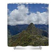 Panoramic Machu Picchu Shower Curtain