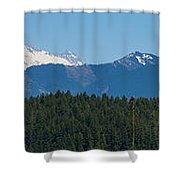 Panoramic Rainier Rt.25 Shower Curtain