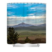 Panoramic View Of The Cascades Shower Curtain