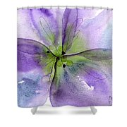 Pansy 1 Shower Curtain