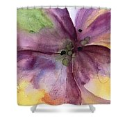 Pansy 3 Shower Curtain