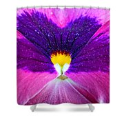 Pansy Abstract 3 Shower Curtain