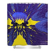 Pansy By Jammer Shower Curtain