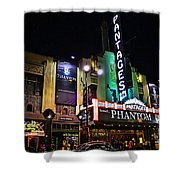 Pantages Theater Shower Curtain