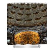 Pantheon Ceiling Detail Shower Curtain