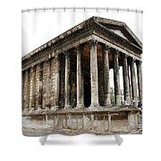 Pantheon Nimes Shower Curtain