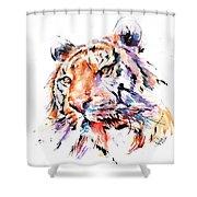 Panthera Tiger II Shower Curtain