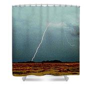 Tohono O'odham Reservation Shower Curtain