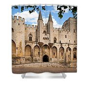 Papal Castle In Avignon Shower Curtain
