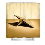 Paper Airplanes Of Wood 7 Shower Curtain