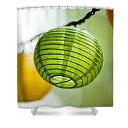 Paper Lanterns Shower Curtain