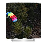 Parachute Shower Curtain