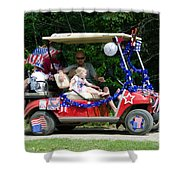 Parade 2 Shower Curtain