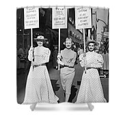 Parade For Court Reform Shower Curtain