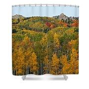 Paradise Autumn Shower Curtain