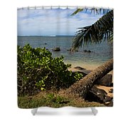 Paradise Awaits Shower Curtain