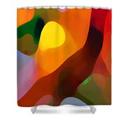 Paradise Found 2 Tall Shower Curtain by Amy Vangsgard