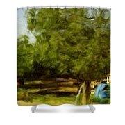 Paradise In Ecija Spain Shower Curtain