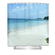 Paradise Is Here Shower Curtain