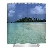 Paradise Island 1 Shower Curtain
