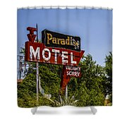 Paradise Motel Shower Curtain