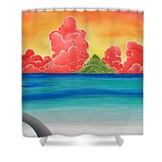 Paradise Panorama Shower Curtain