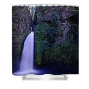 Paradise Pours Wanclella Falls Oregon Shower Curtain