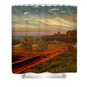 Paradise Road Shower Curtain