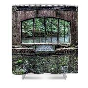 Paradise Springs Spring House Interior 4 Shower Curtain