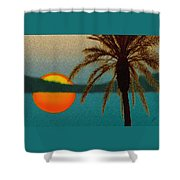 Paradise Sun Shower Curtain
