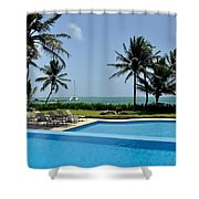 Paradise Vacation Shower Curtain