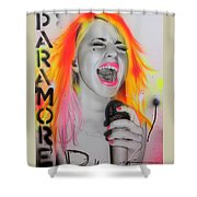Paramore Shower Curtain