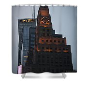 Paramount Building Times Square Shower Curtain