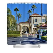 Paramount Movie Studio Hollywood Ca 4 Shower Curtain