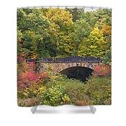 Parapet Bridge Shower Curtain