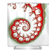 Parasite Shower Curtain