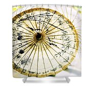 Parasol  Shower Curtain