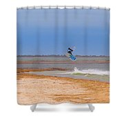 Parasurfer4 Shower Curtain