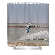 Parasurfer6 Shower Curtain
