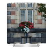 French Stone Shower Curtain