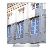 Windows In Shade Shower Curtain