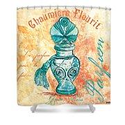 Parfum Shower Curtain by Debbie DeWitt