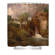 Parham Mill Shower Curtain