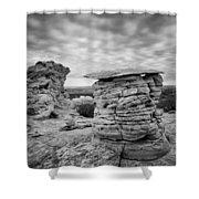 Paria Sandstone Shower Curtain