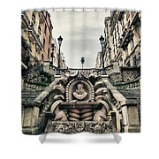 Paris - Statue Shower Curtain