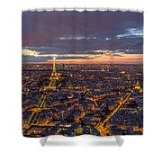 Paris - Tour Montparnasse 2 Shower Curtain