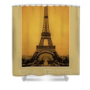 Paris 1889  Shower Curtain by Andrew Fare