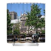 Paris Artist Row Shower Curtain
