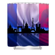 Paris City Shower Curtain