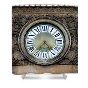 Paris Clocks 1 Shower Curtain
